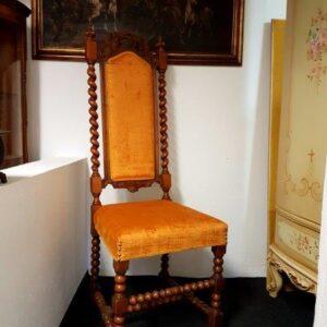 žuta-antikna-stolica