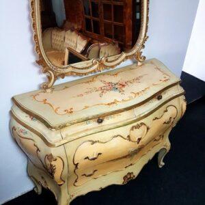 bijela-venecijan-komoda-ogledalom-slika-95453785