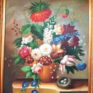 umjetnina-motiv-cvijeća